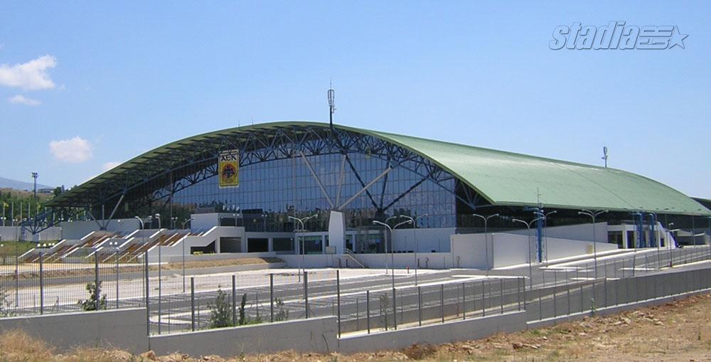 Exterior: Galatsi Olympic Arena