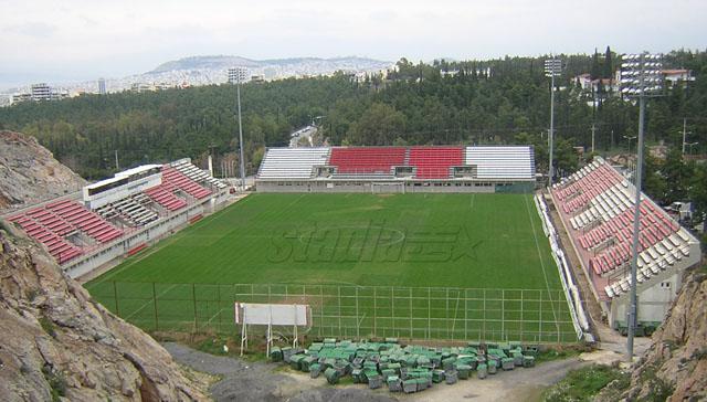 Το Δημοτικό Γήπεδο Καισαριανής - Click για μεγέθυνση!