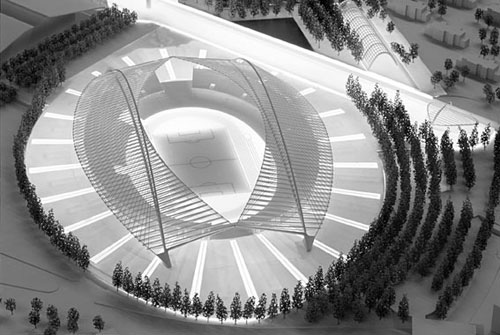 Plans And Models Of The Athens Olympic Complex